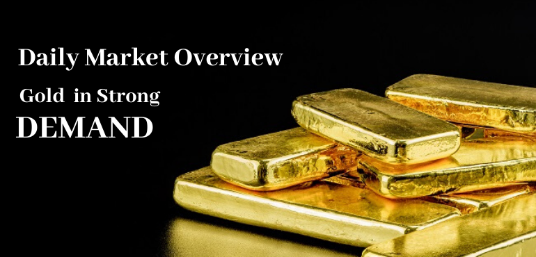 Daily News- Market Says Gold In Strong Demand