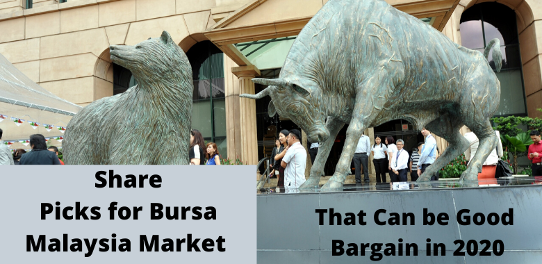 Share Picks for Bursa Malaysia Market That Can be Good Bargain in 2020