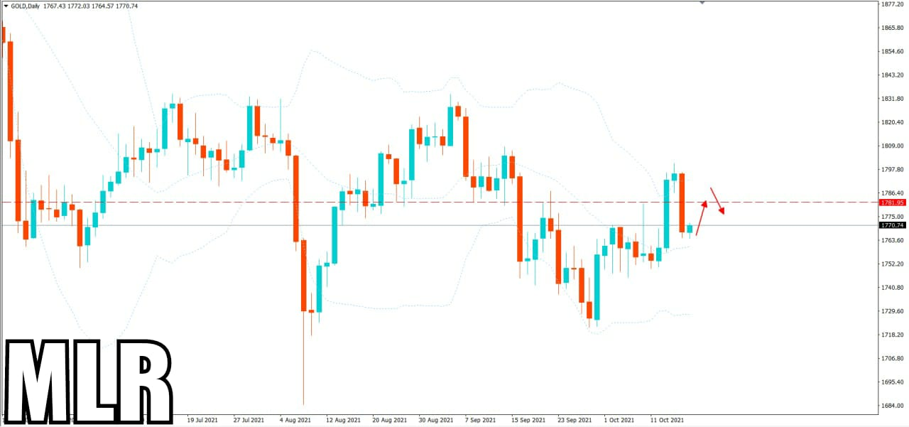 Daily Gold Update- Selling Pressure Before The Next Rally